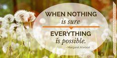 No Guarantees - Struggling with Serendipity