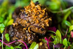 One of our signature dishes: The 'Shaking Beef'  Where do it get it's name from? The fillet beef is cubed, then seared quickly in a hot wok using a to and forth Shaking action....  www.houseofho.co.uk