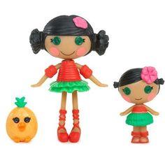 Mini Littles Doll, Mango Tiki Wiki & Kiwi Tiki Wiki