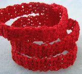 Stripes Bracelet Free Crochet Pattern