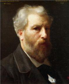 Self-Portrait Presented To M. Sage - William-Adolphe Bouguereau
