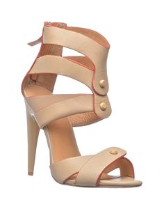 L.A.M.B | Mirage Heels in Nude - Women - Style36  #RihannaStyle36 Shoe Art, Hot Shoes, Beautiful Shoes, Playing Dress Up, Rihanna, Lust, Vintage Outfits, Boutique, My Style