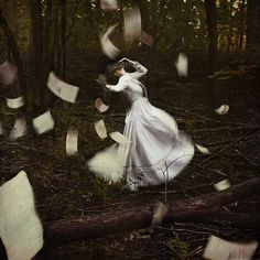lost, in her own world by Amy Ballinger