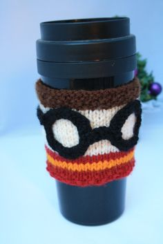 Harry Potter gifts. Reusable cup cuff. Harry by sweetygreetings, £2.50