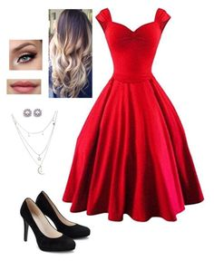 Untitled #472 by sunnywinterday on Polyvore featuring polyvore, fashion, style, Charlotte Russe and clothing