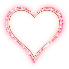 Pink_Diamond_Transparent_ Frame_ Gold_Heart.png ❤ liked on Polyvore featuring art, hearts and valentine
