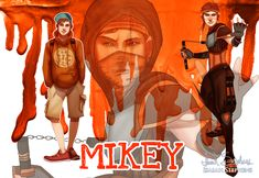 Human Ninja Turtles: Mikey by IsaiahStephens on DeviantArt