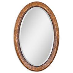 Uttermost Capiz Oval Vanity Mirror 07602 22w x. 34 $257