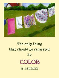 Anti-Racism Poster or Art Print Laundry by FreshAirPrintables