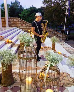 "Wedding Konstantinos & Eliza  invitation-favors-decoration-boboniera-gold—athens-Greece-flowers-church-saxophone-candy table-wedding bouquet ""Nikolas Ker""."