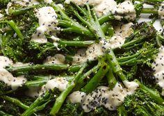 Grilled Broccoli, Broccoli Recipes, Vegetable Recipes, Vegetarian Recipes, Healthy Recipes, Sprout Recipes, Tofu Recipes, Detox Recipes, Delicious Recipes
