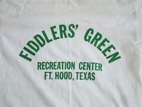 Vintage Fiddlers' Green Recreation Center FT. Hood, Texas T Shirt S