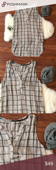 Anthropologie Dolan Left Coast Collection tunic Never worn super cute top from Anthropologie! Perfect with leggings as it falls down mid length. Anthropologie Tops
