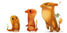 Pokemon fans and art fans, this one is for you! Today we're looking at the incredibly adorable artwork of Piper Thibodeau which features Cryptid Pokemon! Character Concept, Concept Art, Character Design, Character Drawing, Pokemon Especial, Character Illustration, Illustration Art, Charizard, Pokemon Charmander