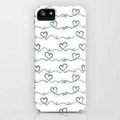 Heart Wave iPhone Case by Louise Machado - $35.00