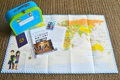 Little Passports - This would be a great idea to incorporate into a class project for study of countries around the world!  Each student could create a suitcase about their own country!