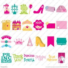 Got my Cricut® Princess Party Cartridge today and can't wait to start using it for Briella's birthday invites and party décor! Yay!!!