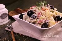 Zacusca de dovlecei(varianta rapida si sanatoasa) - LaLena.ro Potato Salad, Potatoes, Ethnic Recipes, Food, Romanian Recipes, Eten, Potato, Meals, Diet