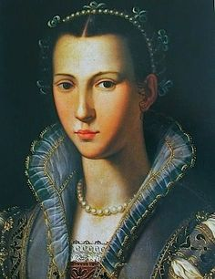 Painting Associated with the Artist or the Worshop of Alessandro Allori (Italian Mannerist Painter, 1535-1607)  Portrait of a Woman 1560