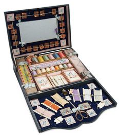 Doll Sewing box set- Theriault's auction July 2014