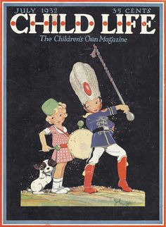 July 1932 issue ''Child Life'', cover by John Gee Etsy