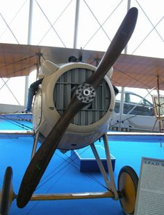 The SPAD S.VII was the first of a series of highly successful biplane fighter aircraft