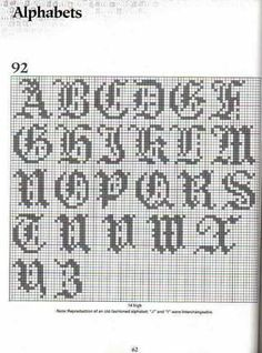 Borduren on Pinterest Alphabet, Cross stitch and Cross ...