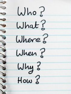Image result for list of questions