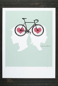 Bike hearts