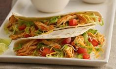 Mazola Recipe - Slow Cooker Chicken Tinga Tacos