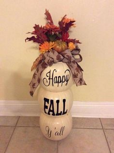 Thanksgiving Crafts, Fall Crafts, Holiday Crafts, Thanksgiving Decorations, Seasonal Decor, Holiday Ideas, Fall Halloween, Halloween Crafts, Fall Projects