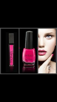 Love these lipstick and nail polish colors by Motives at www.motivescosmetics.com/bunky16