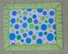 """Flowers, Fairies and Fantasy Baby """"SnuggLin"""" Blanket"""