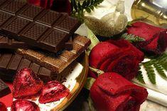 Flores y chocolate