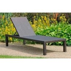 Chaises longues et lits de jardin - Chaise longue Harms Garden Pleasure Ibiza marron HarmsHarms -