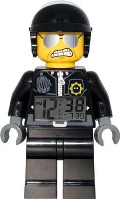 LEGO Bad Cop Alarm Clock