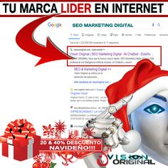 SEO Marketing Digital ofertas navidad Internet, Marketing Digital, The Originals, Xmas