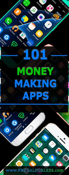 Here's a list of the 101 best money making apps on the web. Make Money Online | Make Money Fast | Surveys That Pay | Work From Home | Make Money Fast | Cash Back Apps | Frugal Living | Surveys For Money.