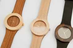 """""""Carpenter Collection"""" wood watch"""