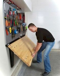 Genius garage organization ideas 17