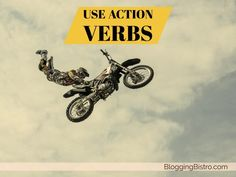 Inject liveliness into your social media bio with action verbs