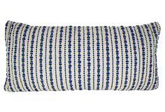 Splash 14x28 Woven Pillow, Blue on OneKingsLane.com