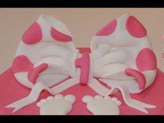 ▶ Cake design : Réaliser un noeud en pâte à sucre / Tutorial sugarpaste node - YouTube
