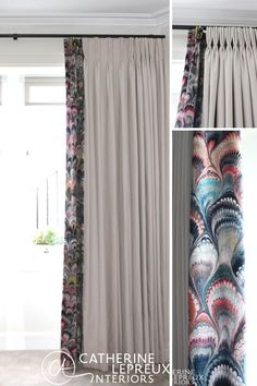 Inspiration and ideas for curtains for Victorian windows. Adding a velvet border to plain curtains adds colour and pattern but keeps the overall cost down and in budget.