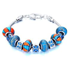 Valentines Day Gifts Pugster Beads Fit Pandora Chamilia Biagi Charm Murano Glass Bracelet Pugster. $49.99. Stunning Colorful Murano Glass Style Designer Fashion bracelet. Free Jewerly Box.. Great to give away as presents, gifts to friends or family members.. Handmade in China in the VenetianáMuranoáStyle. Money-back Satisfaction Guarantee