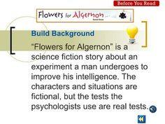 Best Flowers For Algernon Images  Hilarious Fun Things Funny Stuff Flowers For Algernon Essay Flowers For Algernon Prereading Power Point