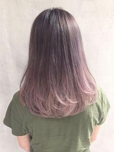~ αnd your sweet sweet sun mαkes me crαzy ~ Hair Color Streaks, Ombre Hair Color, Hair Color For Black Hair, Cool Hair Color, Pink Hair, Medium Hair Styles, Short Hair Styles, Korean Medium Hair, Dye My Hair