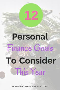 Instead of resolutions, try financial goals. Keep motivated and crush your goals in the new year with these top financial goal suggestions. Best Money Saving Tips, Ways To Save Money, Saving Money, How To Make Money, Financial Peace, Financial Goals, Living On A Budget, Frugal Living, Budgeting Finances