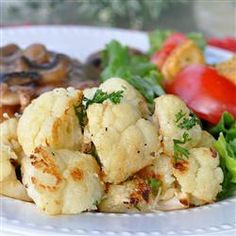 Roasted Garlic Cauliflower, photo by KGora