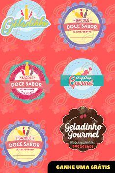 #geladinhogourmetembalagem #geladinhogourmetadesivopara ##geladinhogourmetetiqueta Bisnis Ideas, Ice Cream Desserts, Slogan, Boquet, Food, Craft, Pastry Logo, For Sale Sign, Dessert Recipes